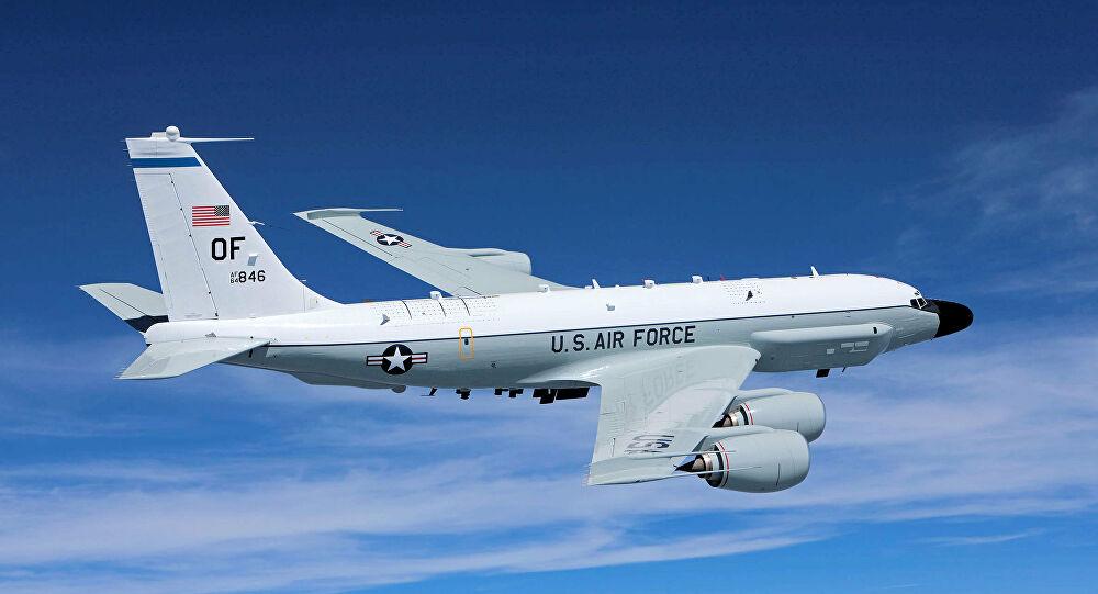 ABD'ye ait keşif uçağı saatlerce Rusya sınırlarında uçtu