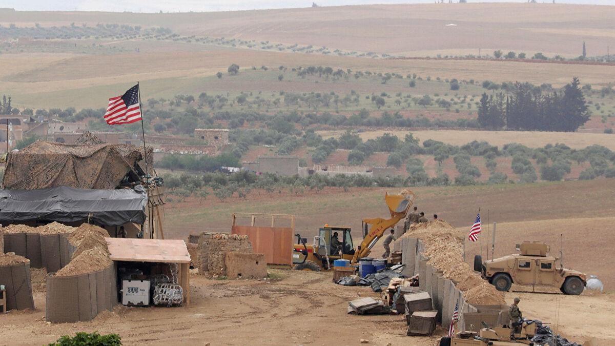 ABD'den Suriye'de flaş hamle: O bölgeye üs kuruyor
