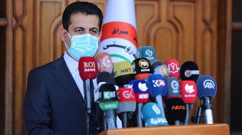 Kürdistan Sağlık Bakanlığı'ndan basın mensuplarına çağrı