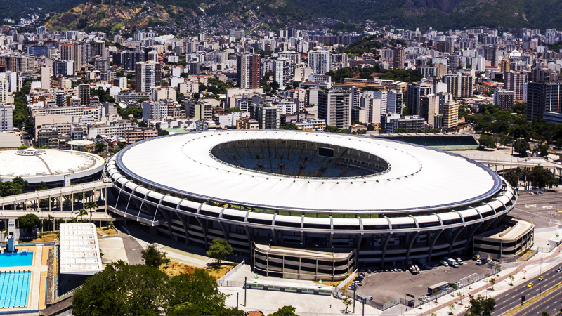 Maracana stadyumu Kovid-19 hastanesine dönüştürüldü