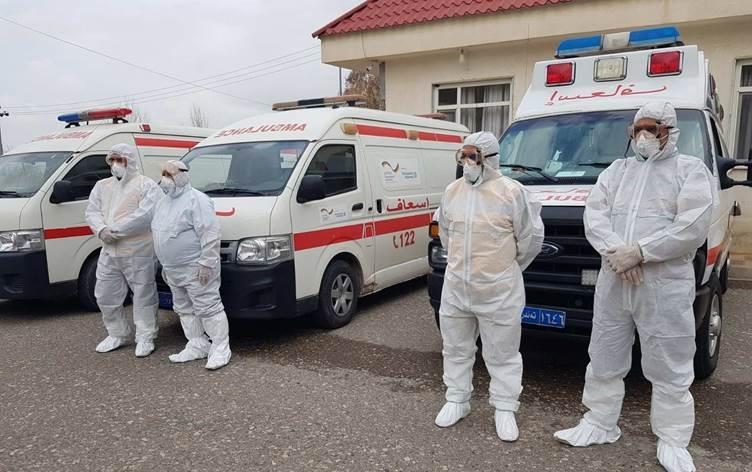 Kürdistan | Duhok'ta Kovid-19'u yenen tüm hastalar taburcu edildi