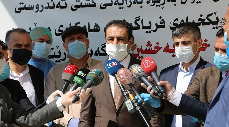 Erbil Sağlık Müdürü: Koronavirüs nedeniyle 4 hastene tedavi için hazırlandı