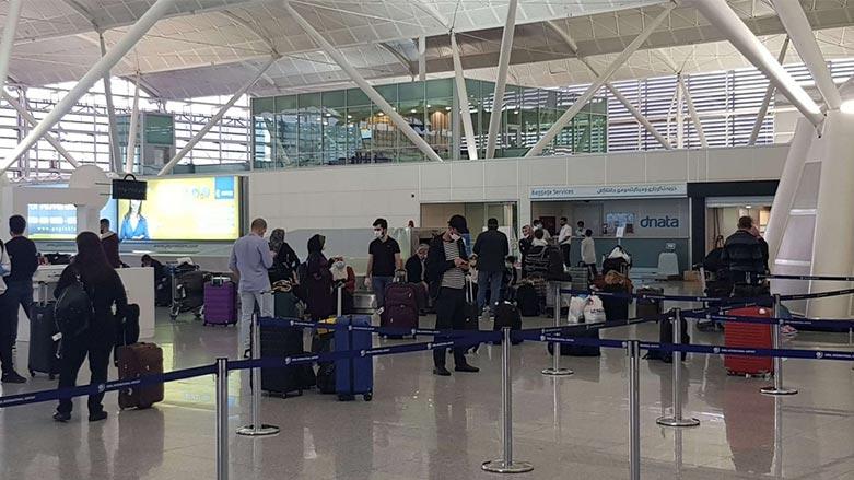 Türkiye'de bulunan Kürdistan Bölgesi vatandaşları Erbil'e getirildi