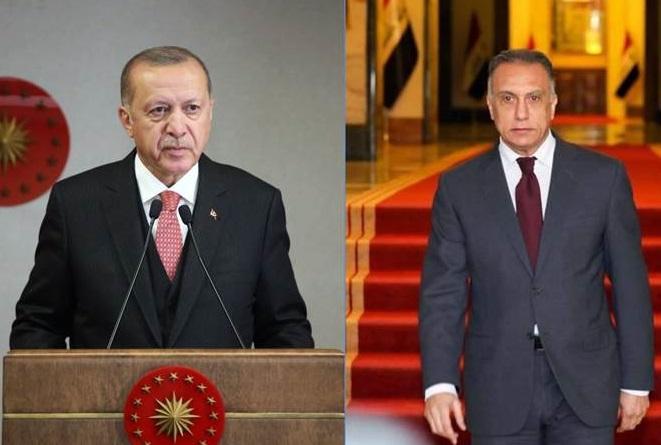 Erdoğan, Kazımi ile ilişkiler, anlaşmalar ve sınırları görüştü