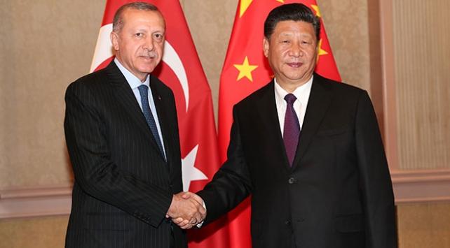 Erdoğan ve Şi, Coronavirüs ile mücadelede işbirliğine vardı