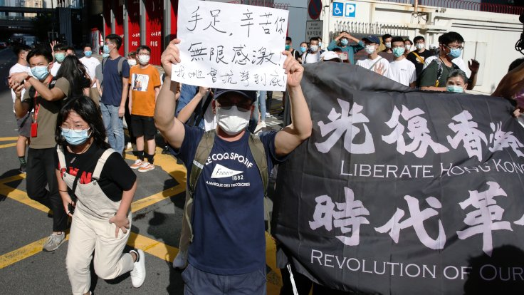 Çin'den Hong Kong'a 'ulusal güvenlik yasası'