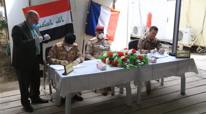 Irak, Fransızların elindeki karargahı devraldı...