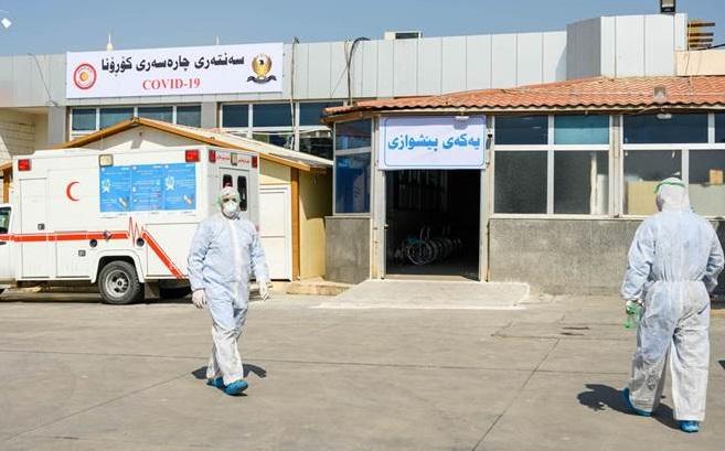 Kürdistan'da vaka sayısı 11 kişi artarak 288'e yükseldi