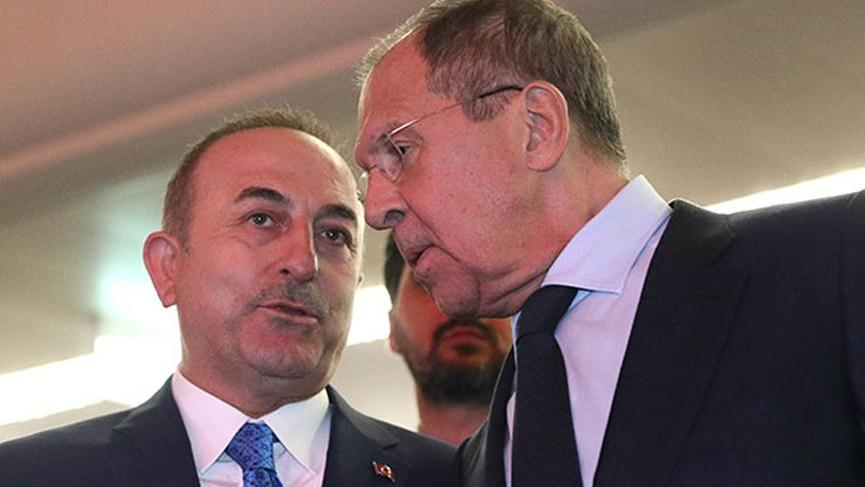 Lavrov ve Çavuşoğlu görüşmesine Rusya'dan açıklama