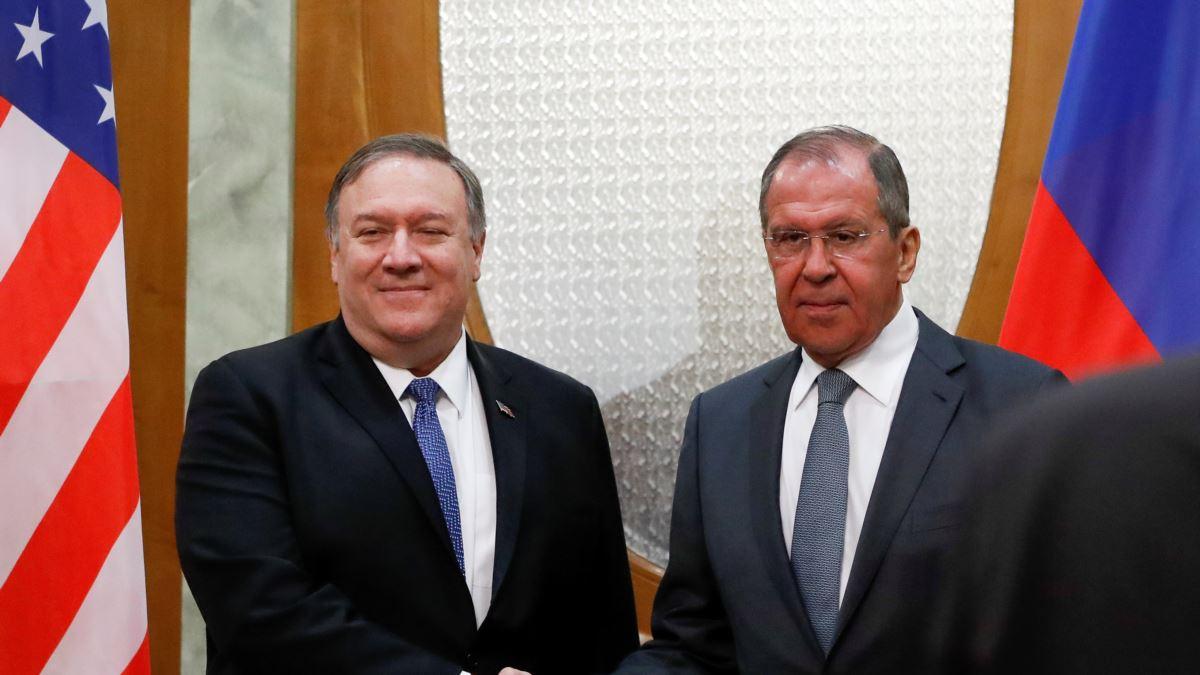 ABD: Pompeo ve Lavrov, silah kontrolünü görüştü
