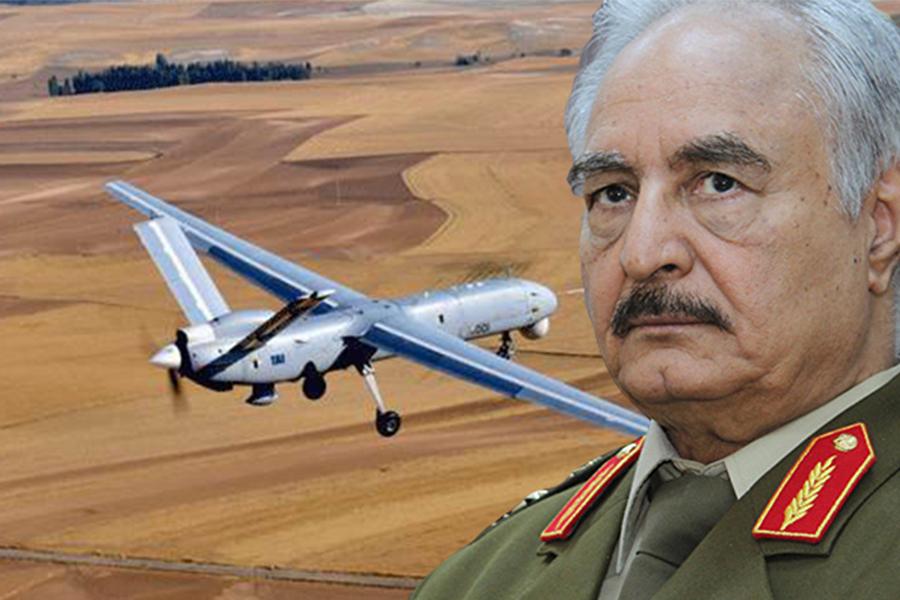 Hafter'e bağlı Libya Ordusu, Türk İHA'sı düşürdü
