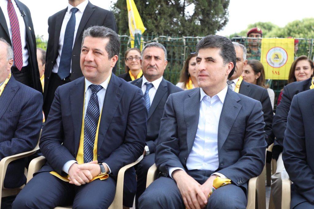 Başbakandan, Neçirvan Barzani'ye başsağlığı telefonu