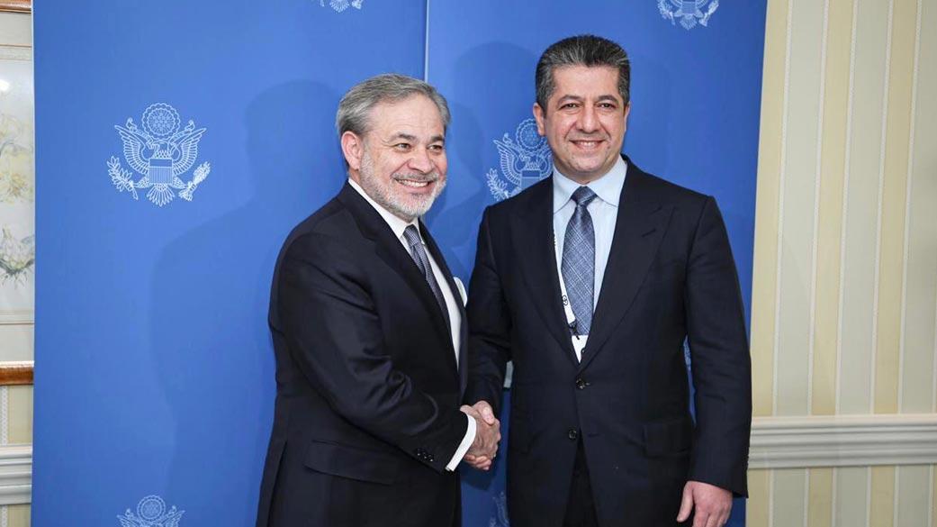 Mesrur Barzani, ABD Enerji Bakanı'yla görüştü