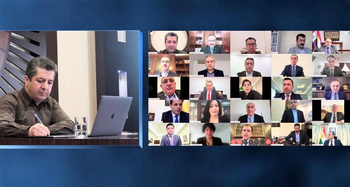 Mesrur Barzani: Önceliğimiz, halkın yaşam ve sağlığını korumak