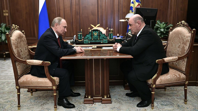 Rusya Başbakanı, Putin'e Kovid-19'a yakalandığını bildirdi