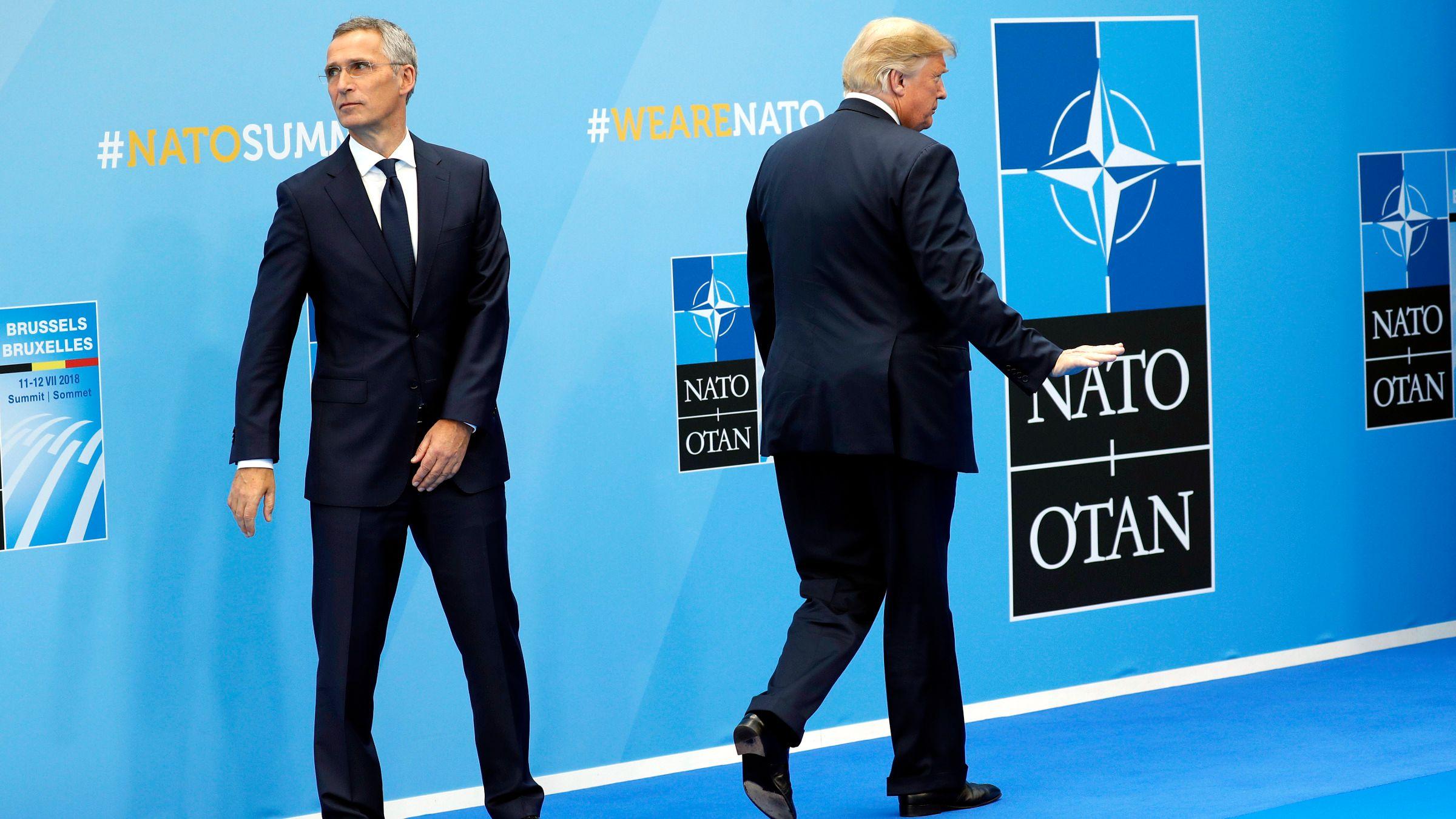 ABD çekiliyoruz dedi: NATO'dan toplanma kararı!