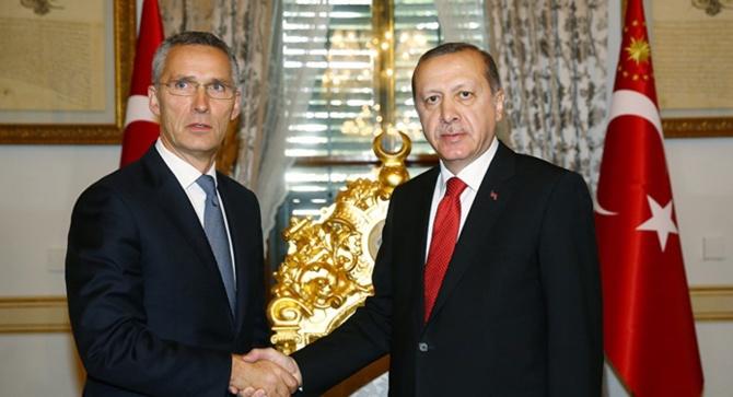 Erdoğan-Stoltenberg, Suriye ve Libya'daki durumu görüştü