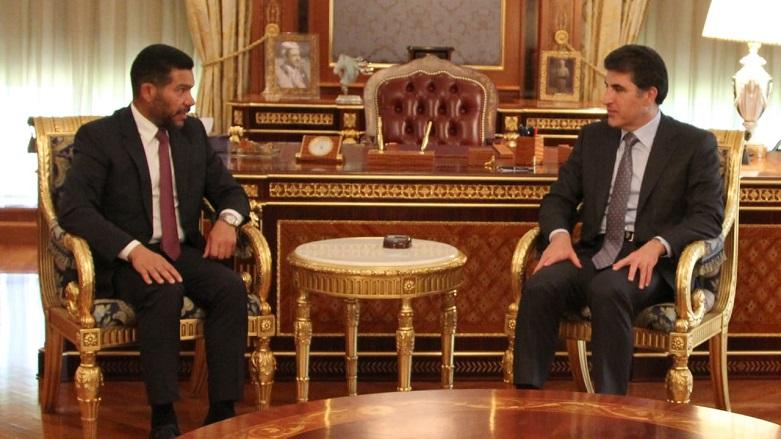 Neçirvan Barzani ve Cemal Elzarri bölgeyi görüştü