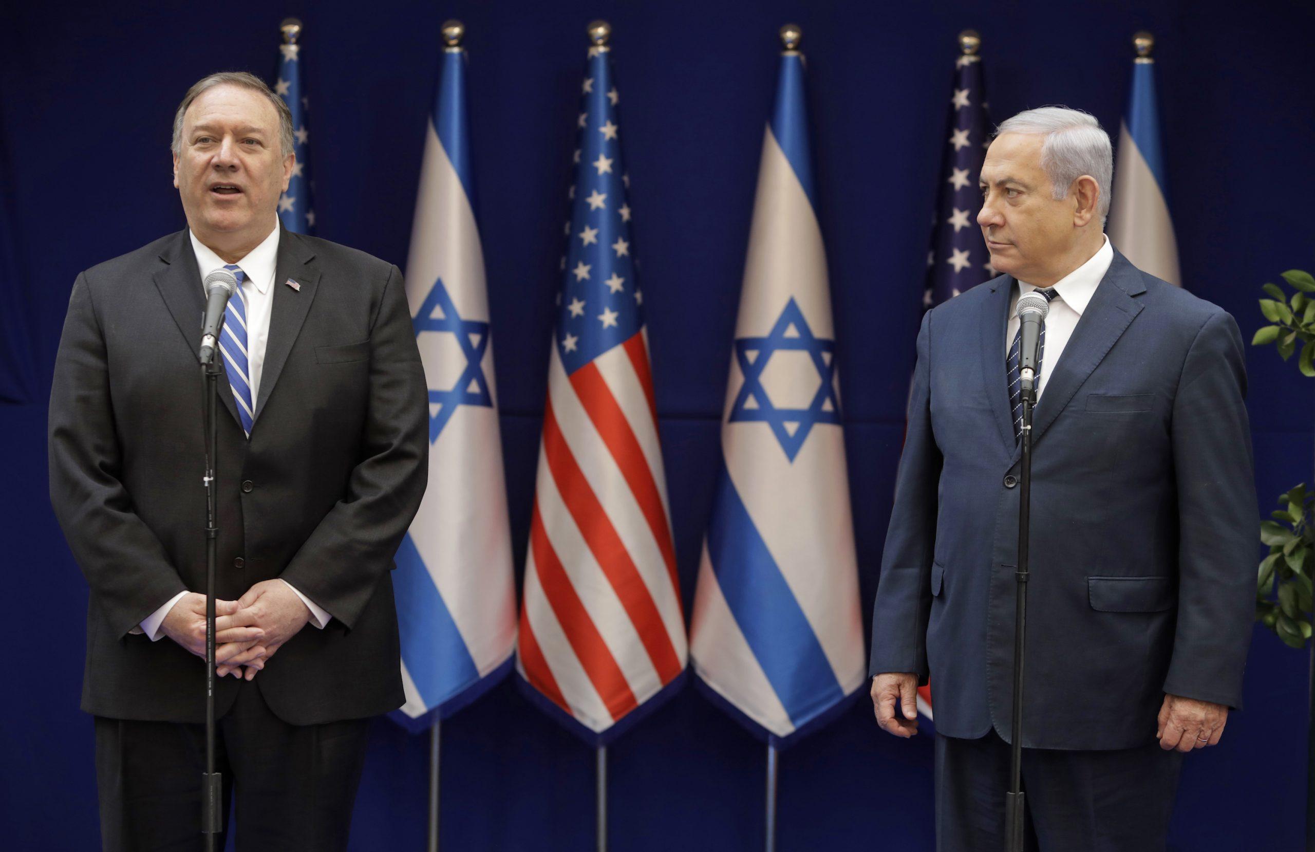 Mike Pompeo Kudüs'te: İki ülkeye sert eleştiri!