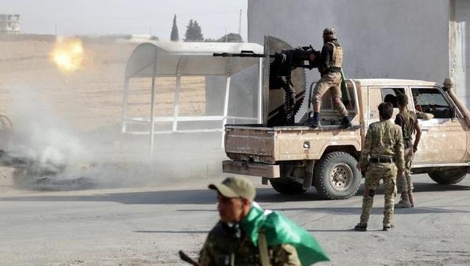 Rojava İç Güvenlik güçleri ile Esad güçleri arasında çatışma