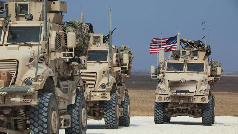 """Rojava'da ABD'nin konvoyuna engel"""