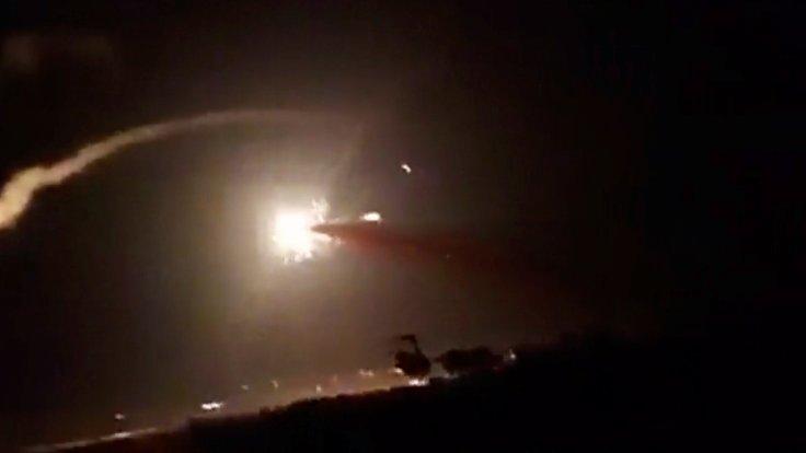İsrail uçakları Suriye'deki askeri tesisi vurdu