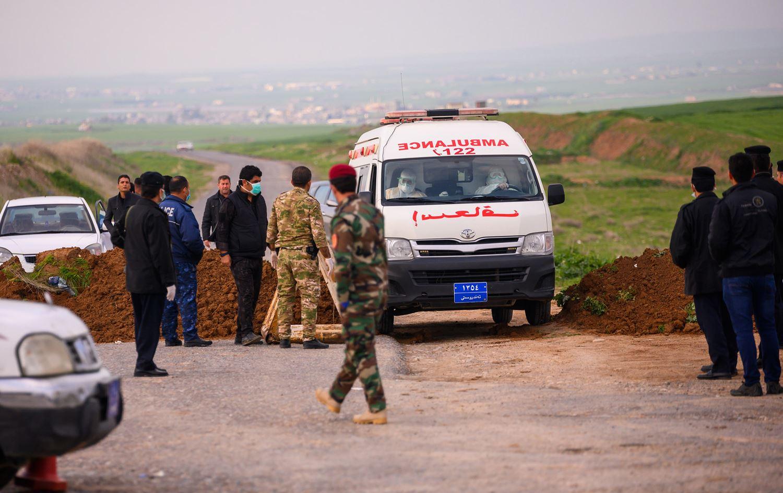 Erbil | 14 günlük karantina bitti, 420 testin sonucu açıklandı!