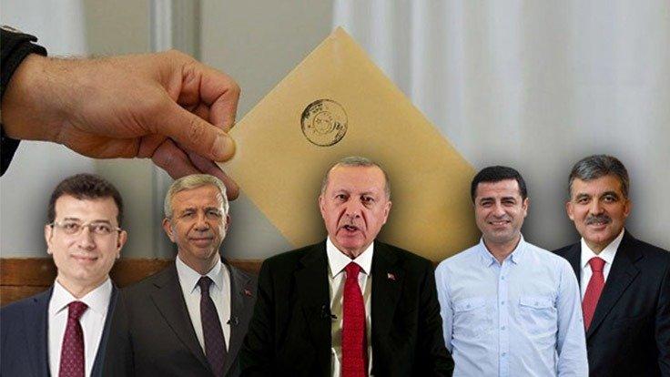 Optimar anketi: Erdoğan'a karşı 'O iki isim' öne çıkıyor