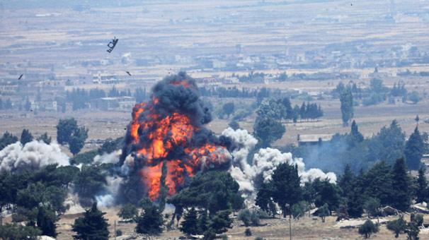 İsrail, Suriye de 'İran'a ait füze fabrikasını' vurdu