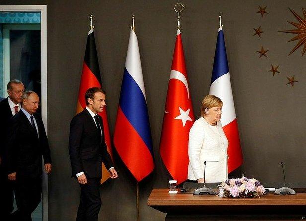 4 ülke, Suriye, Libya ve Irak'ın durumunu görüşecek