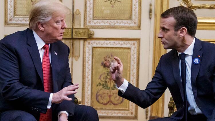 Trump-Macron, G7 zirvesi ve Libya'daki gerilimi görüştü