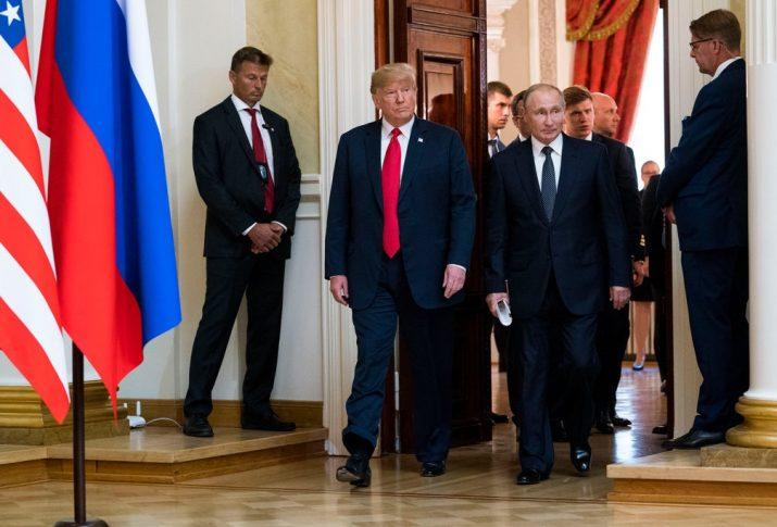 """Trump ve Putin'den """"Elbe Buluşması""""na ilişkin ortak açıklama"""