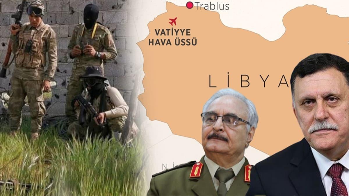 Libya ordusu, Hafter'in kritik noktalarına saldırdı