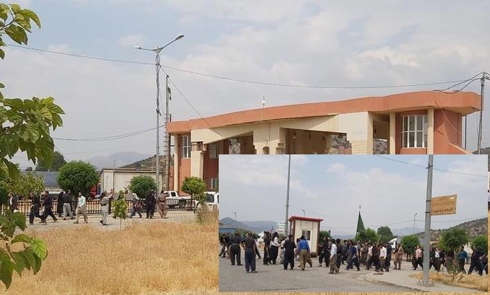 Kürdistan Bölgesi sınırına kılıç ve hançerlerle saldırdılar!