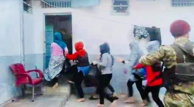 VİDEO |Kaçırılan Efrinli kadınlar gizli hapishaneden çıktı!