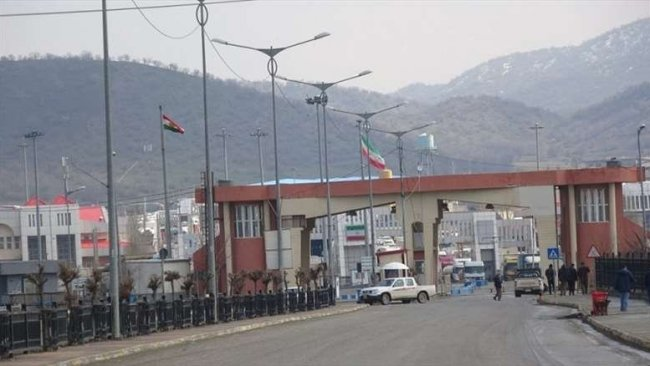 İran'a açılan Başmak Sınır Kapısı karantinaya alındı