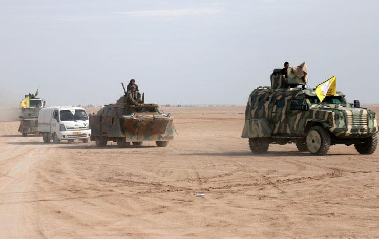 DSG: Haseke ve Deyr ez Zor'da 17 IŞİD'li yakalandı