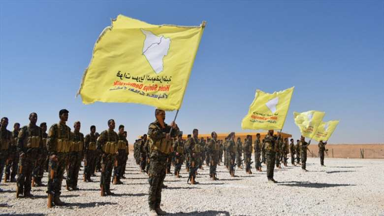 DSG, Rakka'da askeri eğitimlerine yeniden başladı