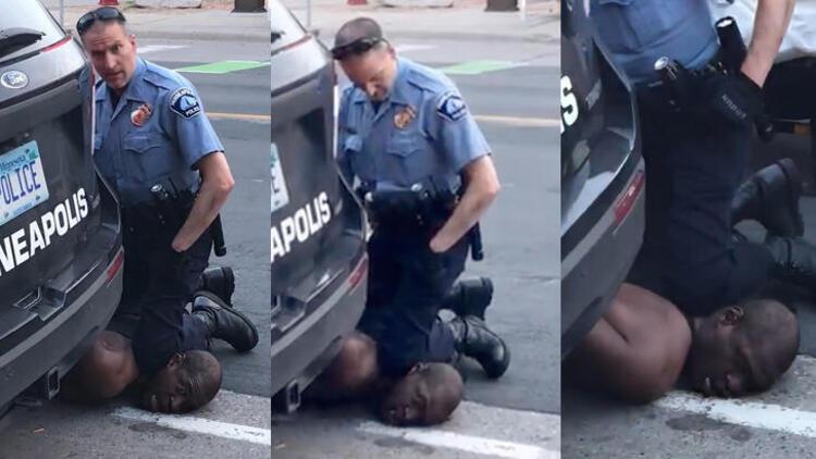 Floyd'u öldüren 3 polis için 750 bin dolarlık kefalet