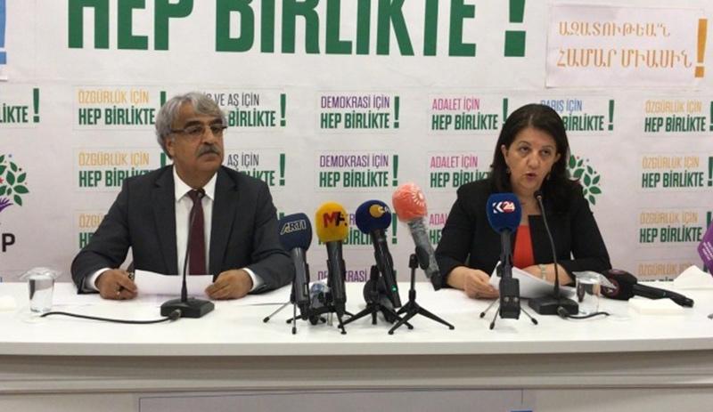 HDP'den 9 maddelik yeni dönem strateji hattı ve tutum belgesi