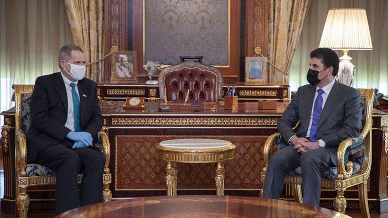 Neçirvan Barzani, ABD ile Irak müzakerelerini görüştü