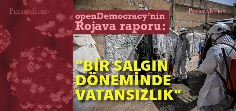 """""""Kürtlerin vatansızlığını sona erdirmek için tam baskı kurulmalı"""""""