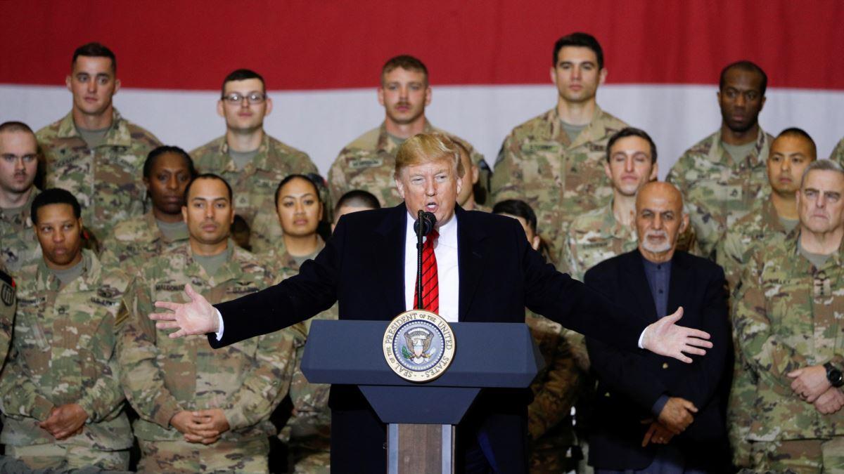 Trump'tan Rojava'daki ABD askerlerine ilişkin açıklama