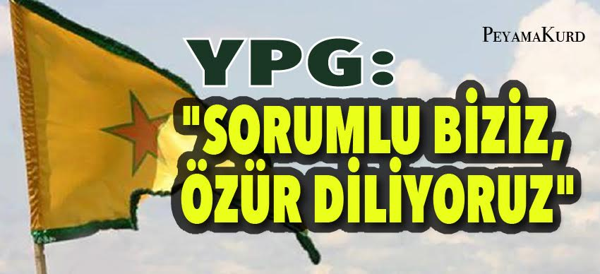 YPG: Üzerimize düşen her adımı atmaya hazırız