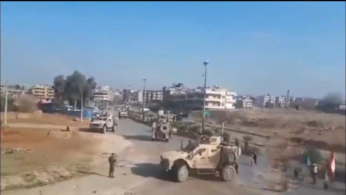 ABD güçleri Kamışlo'da ikinci kez engellendi