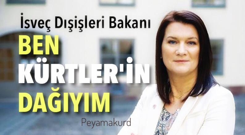 İsveçli Bakandan Kürtlere: Sizin dağınız benim