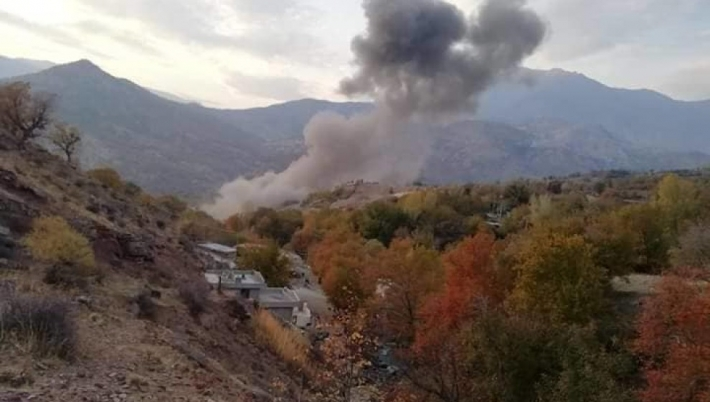 Kandil'de bombardıman: Birçok köy boşaltıldı
