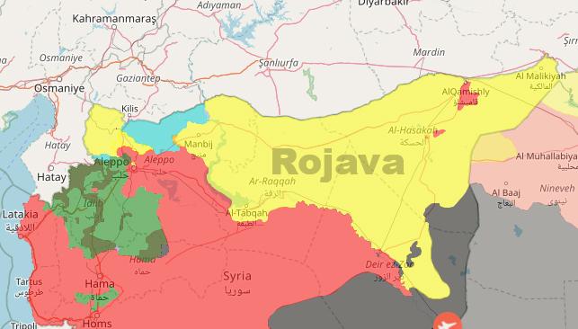 Rojava'dan Rusya'ya Esad rejimine baskı yapın çağrısı
